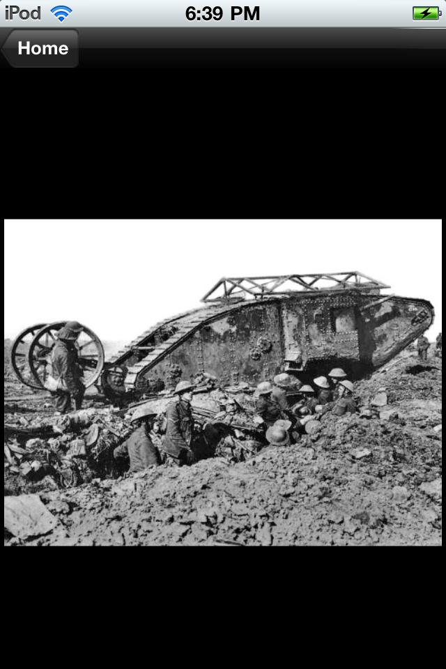 Screenshot History Challenge: WWI Lite