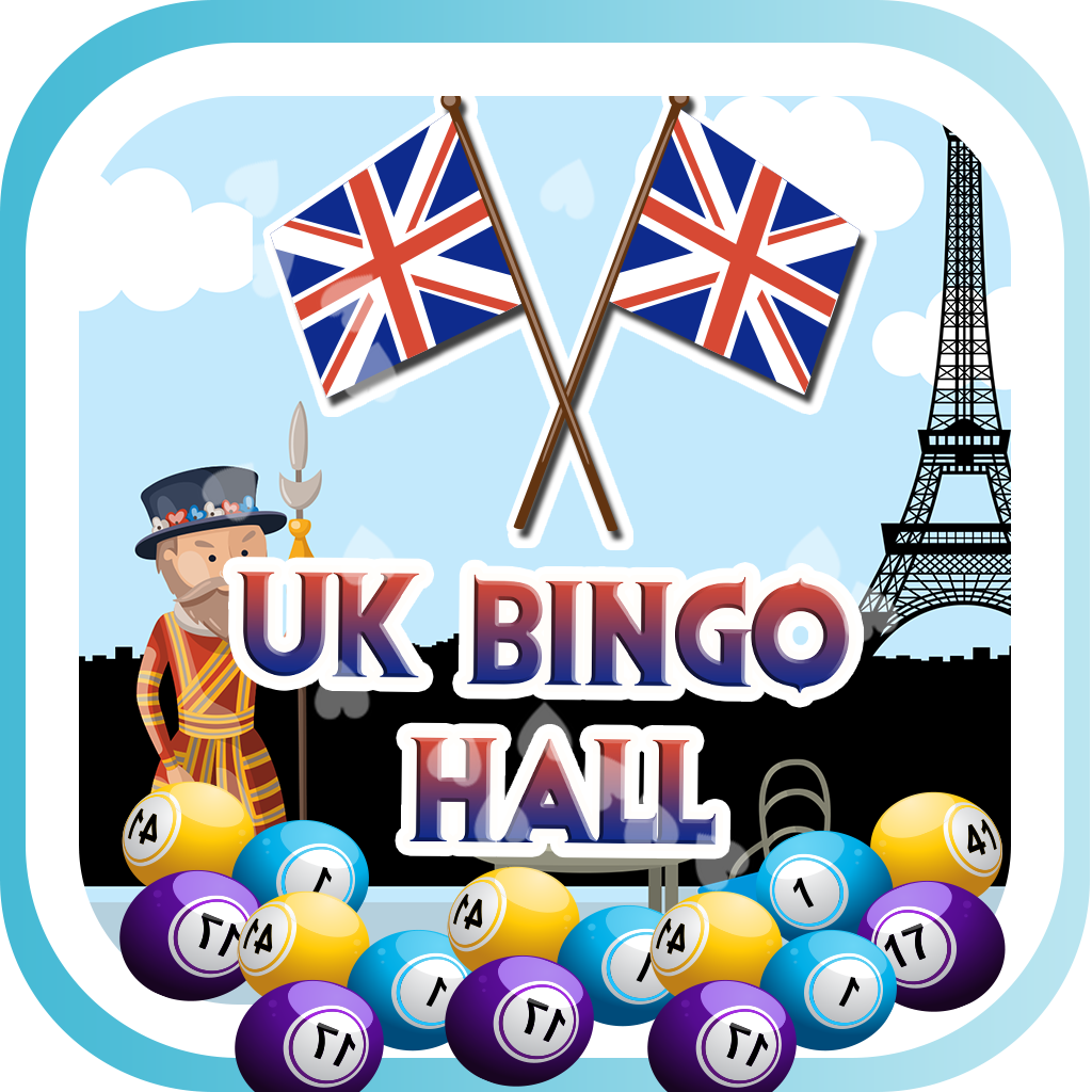 UK Bingo Hall HD 777- Win Lucky Fortune Las Vegas Lotto Fun Casino