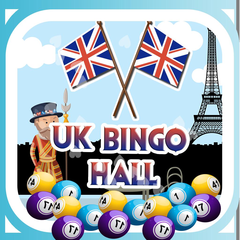 UK Bingo Hall HD 777- Win Lucky Fortune Las Vegas Lotto Fun Casino
